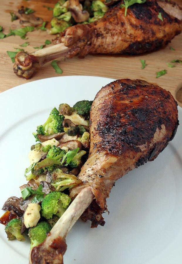 Roast Turkey Legs  Oven Roasted Turkey Legs