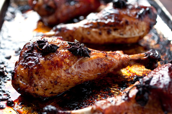 Roast Turkey Legs  Roasted Turkey Drumsticks With Star Anise and Soy Sauce