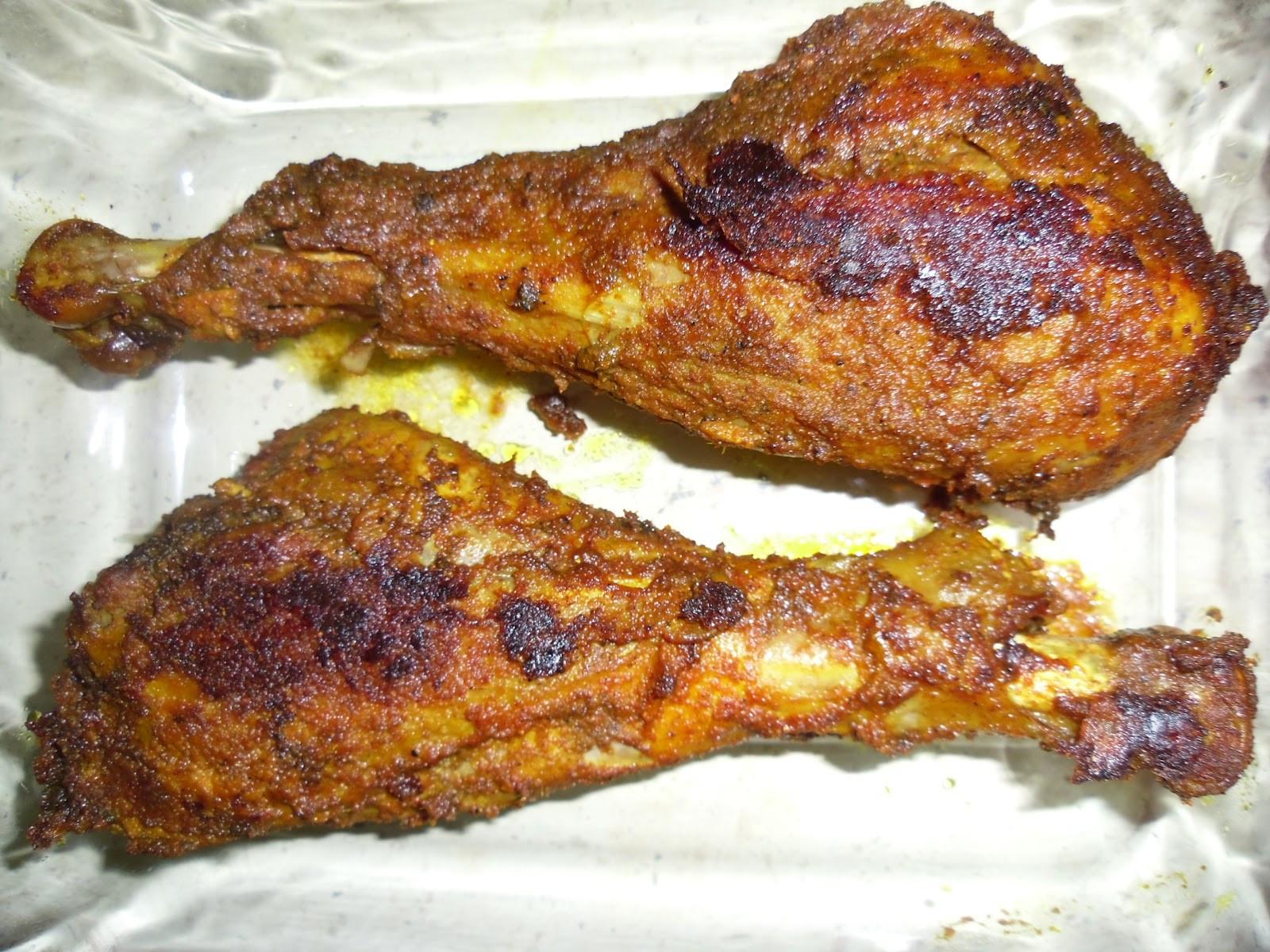 Roast Turkey Legs  Just Cooked Turkey Leg Roast Indian Way