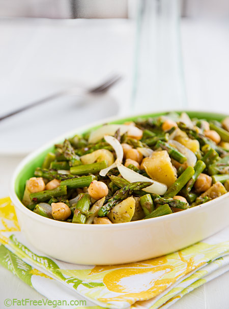 Roasted Asparagus Salad  Redefine Salad with These 40 Revolutionary Recipes Plant