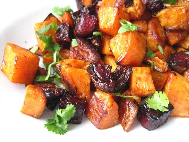 Roasted Beets And Sweet Potatoes  Recipe Roasted Beets and Sweet Potatoes