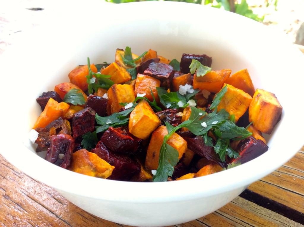 Roasted Beets And Sweet Potatoes  Roasted Sweet Potatoes & Beets