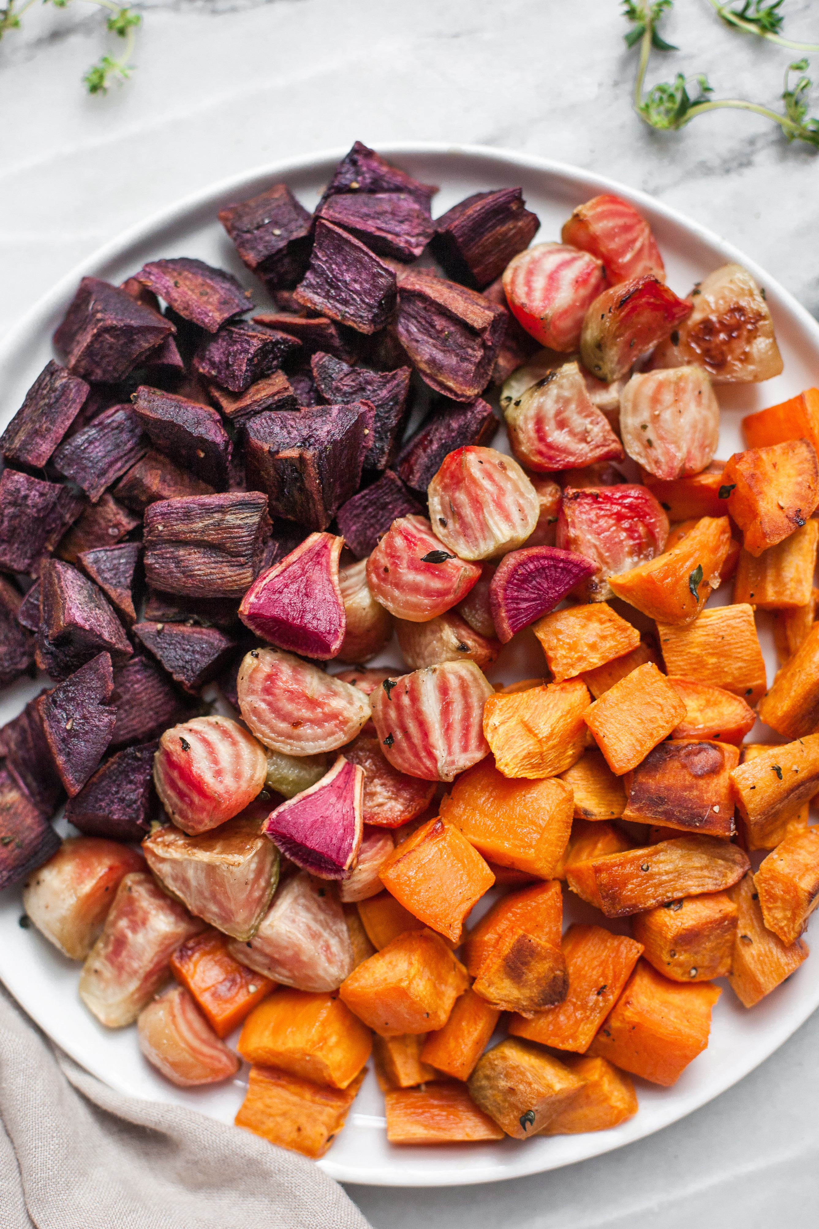 Roasted Beets And Sweet Potatoes  Roasted Beets & Sweet Potatoes A Calculated Whisk