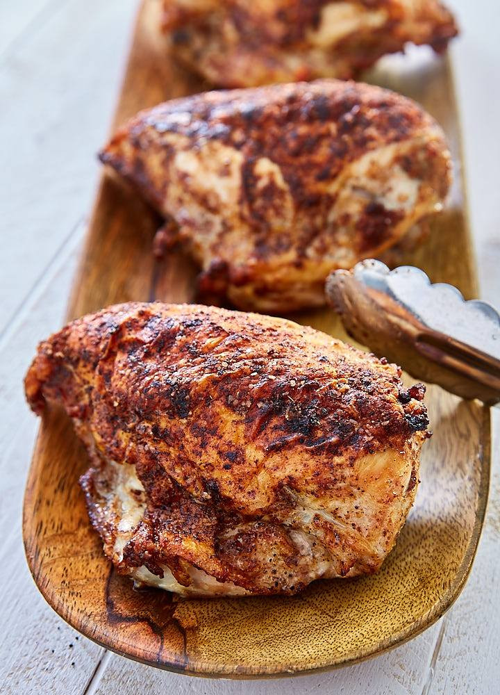 Roasted Bone In Chicken Breast  Crispy Oven Roasted Chicken Breast i FOOD Blogger