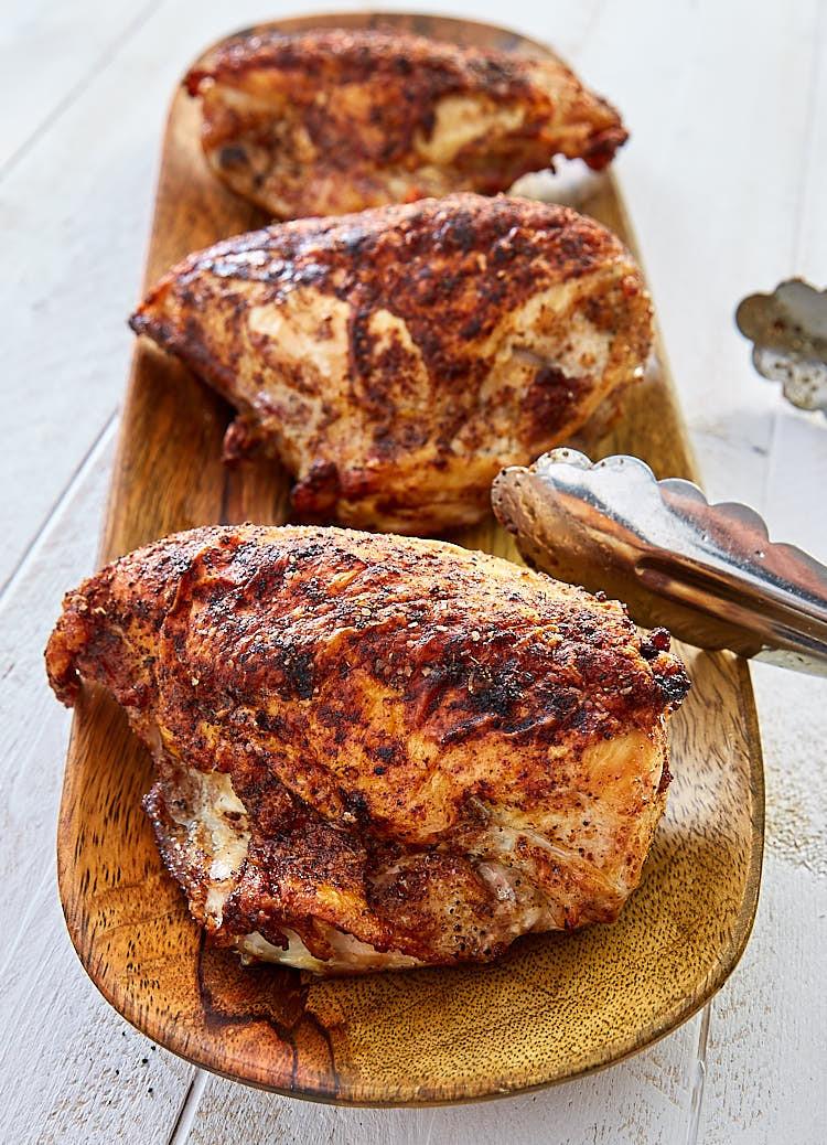 Roasted Bone In Chicken Breast  Best Bone in Chicken Breast Recipes i FOOD Blogger