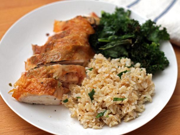 Roasted Bone In Chicken Breast  Dinner Tonight Roasted Bone in Chicken Breast