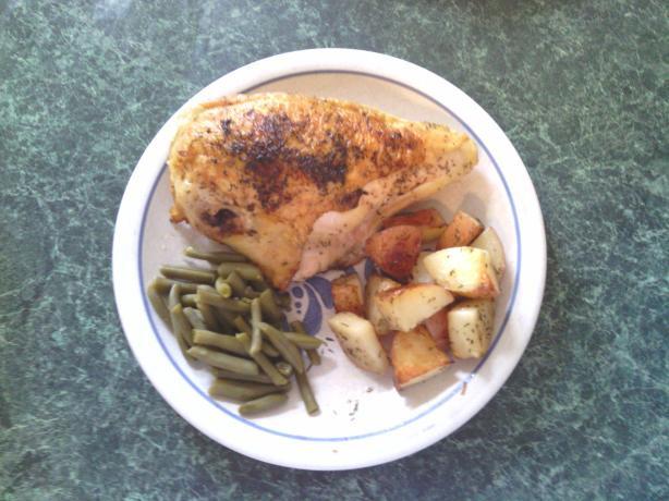 Roasted Bone In Chicken Breast  Roast Chicken Breast Bone In Skin by Lila1083
