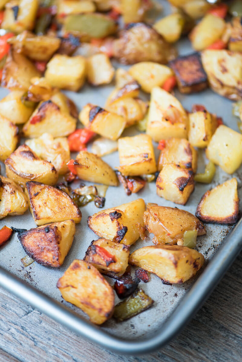 Roasted Breakfast Potatoes  roasted breakfast potatoes recipe