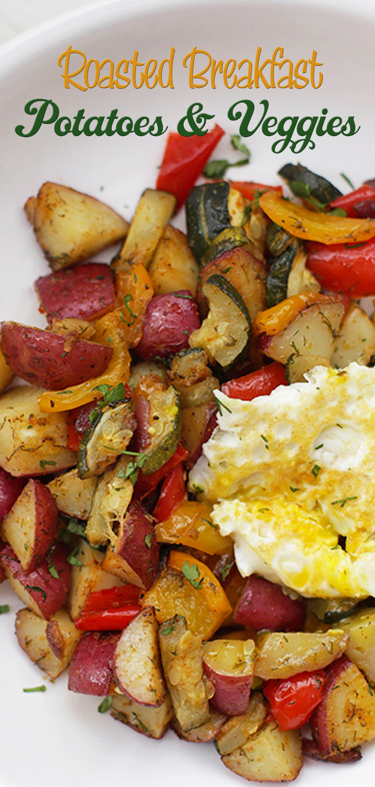Roasted Breakfast Potatoes  Roasted Breakfast Potatoes And Veggies