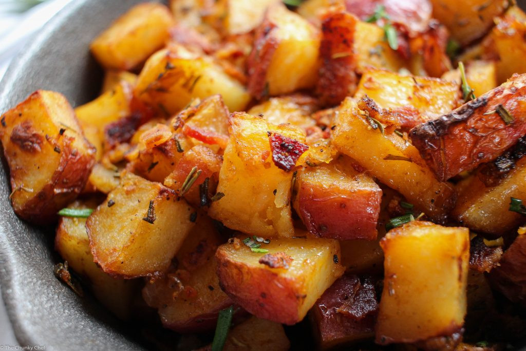 Roasted Breakfast Potatoes  Oven Roasted Breakfast Potatoes The Chunky Chef