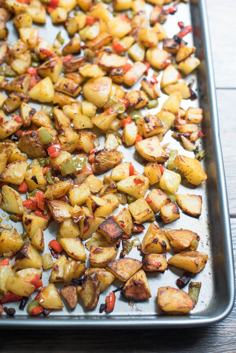Roasted Breakfast Potatoes  Oven Roasted Breakfast Potatoes