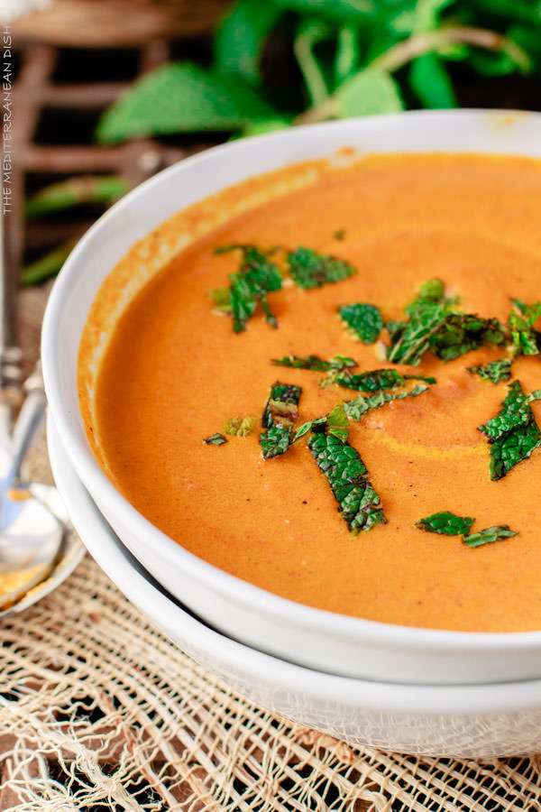Roasted Carrot Soup  Roasted Carrot Ginger Soup