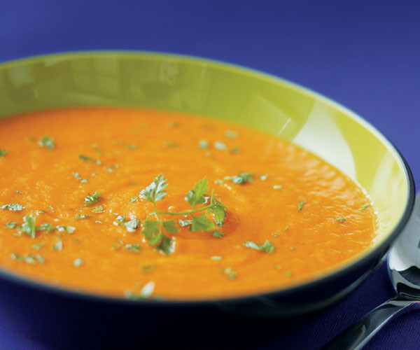 Roasted Carrot Soup  Roasted Carrot Soup Recipe Recipe FineCooking