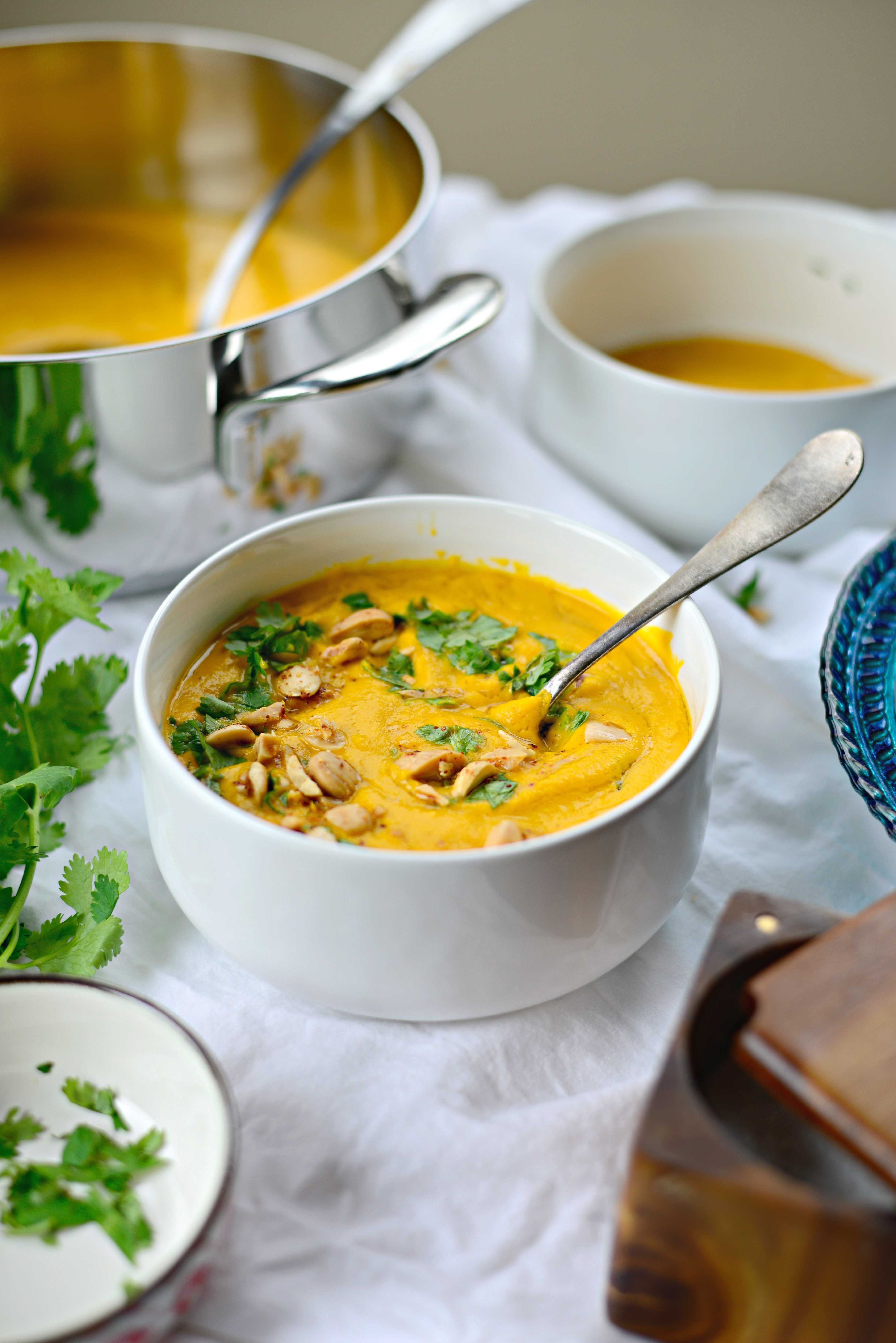 Roasted Carrot Soup  Simply Scratch Roasted Ginger Carrot Soup Simply Scratch