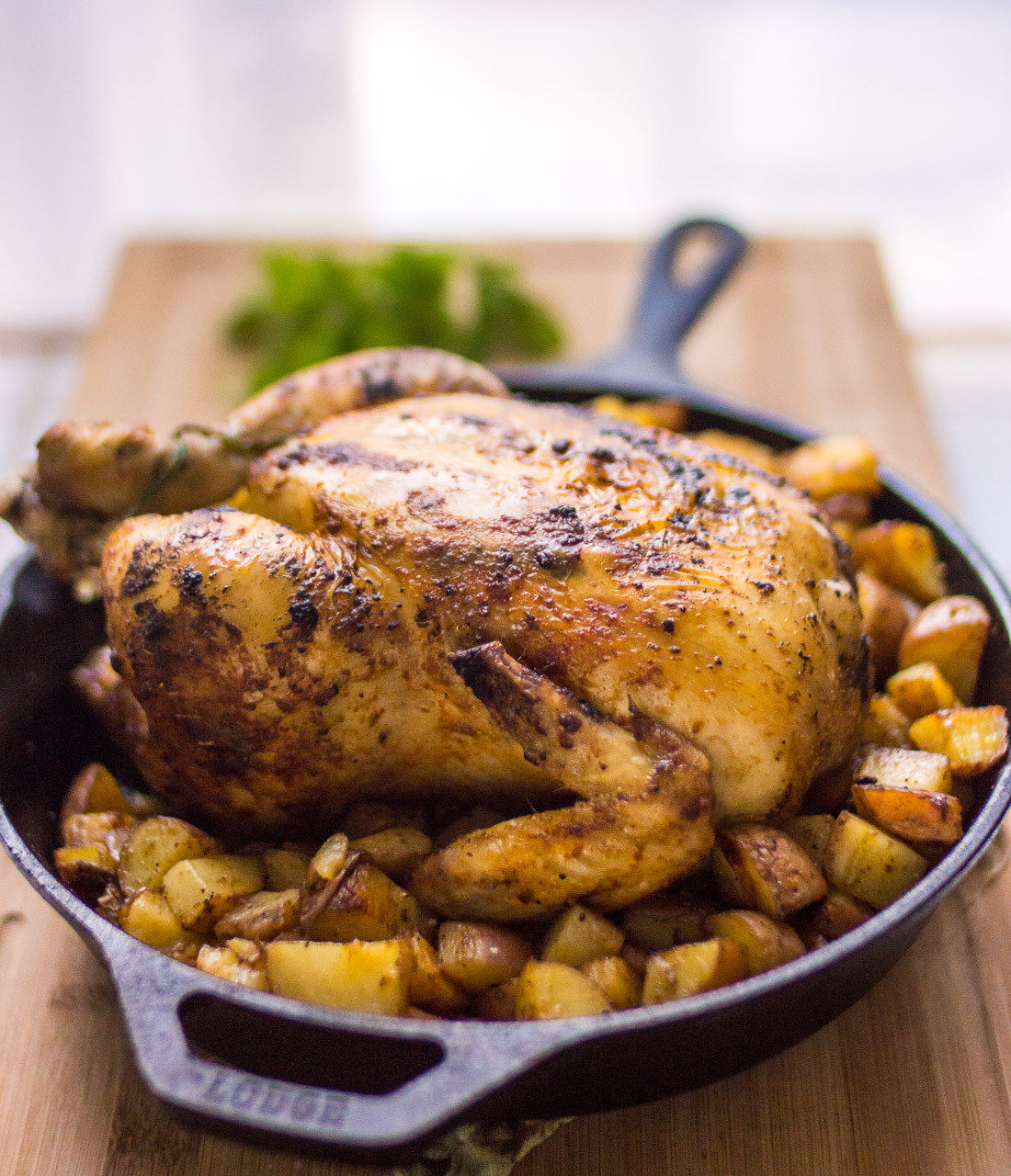 Roasted Chicken And Potatoes  50 High Protein Chicken Recipes That Are Healthy And