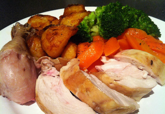Roasted Chicken Dinner  How to make Heston's Perfect Roast Chicken Sunday Lunch