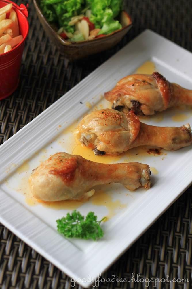 Roasted Chicken Drumsticks  GoodyFoo s Recipe Spicy roasted chicken drumsticks