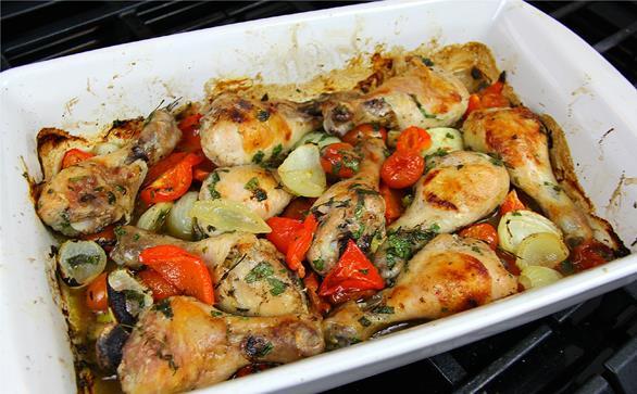Roasted Chicken Drumsticks  Oven Roasted Chicken Drumsticks Recipe