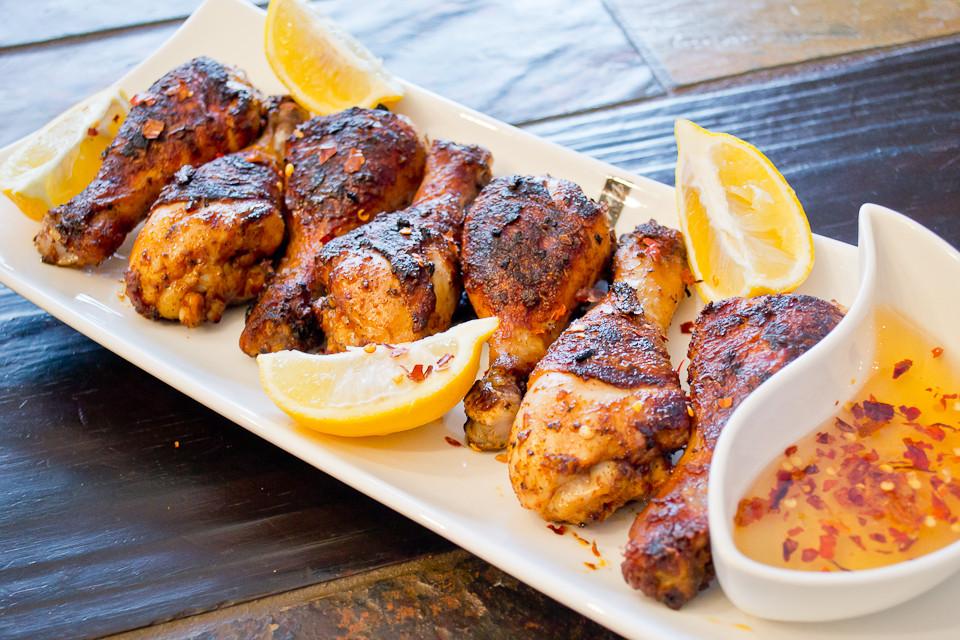 Roasted Chicken Drumsticks  spicy roast chicken legs