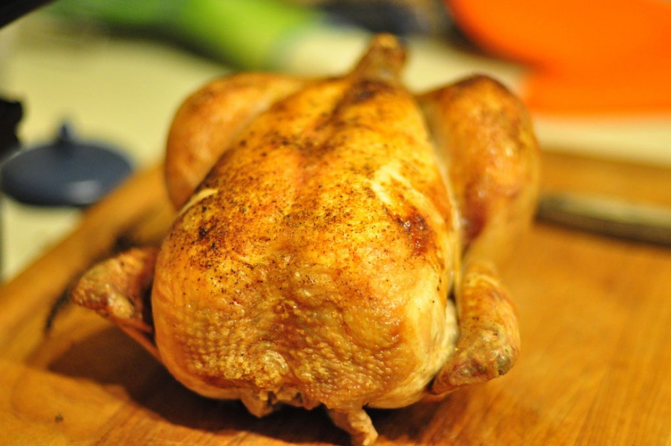 Roasted Chicken Temperature  How Does Food Cook After Taking It Out The Oven