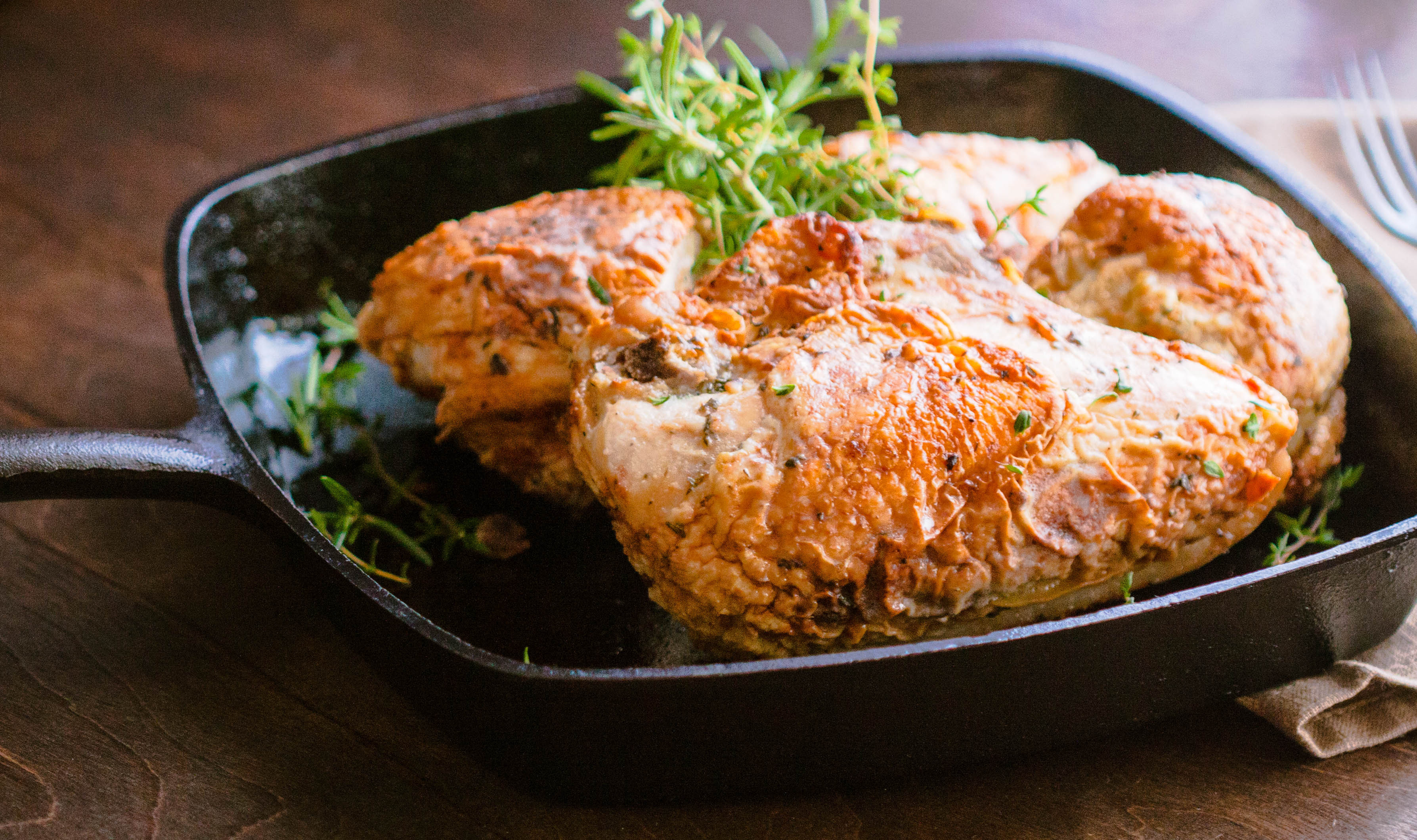 Roasted Chicken Temperature  Pan Roasted Chicken with Lemon & Fresh Herbs