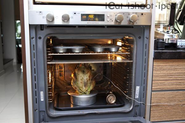 Roasted Chicken Temperature  Ariston OpenSpace Oven Ieat s Chiffon Tin Crispy Roast