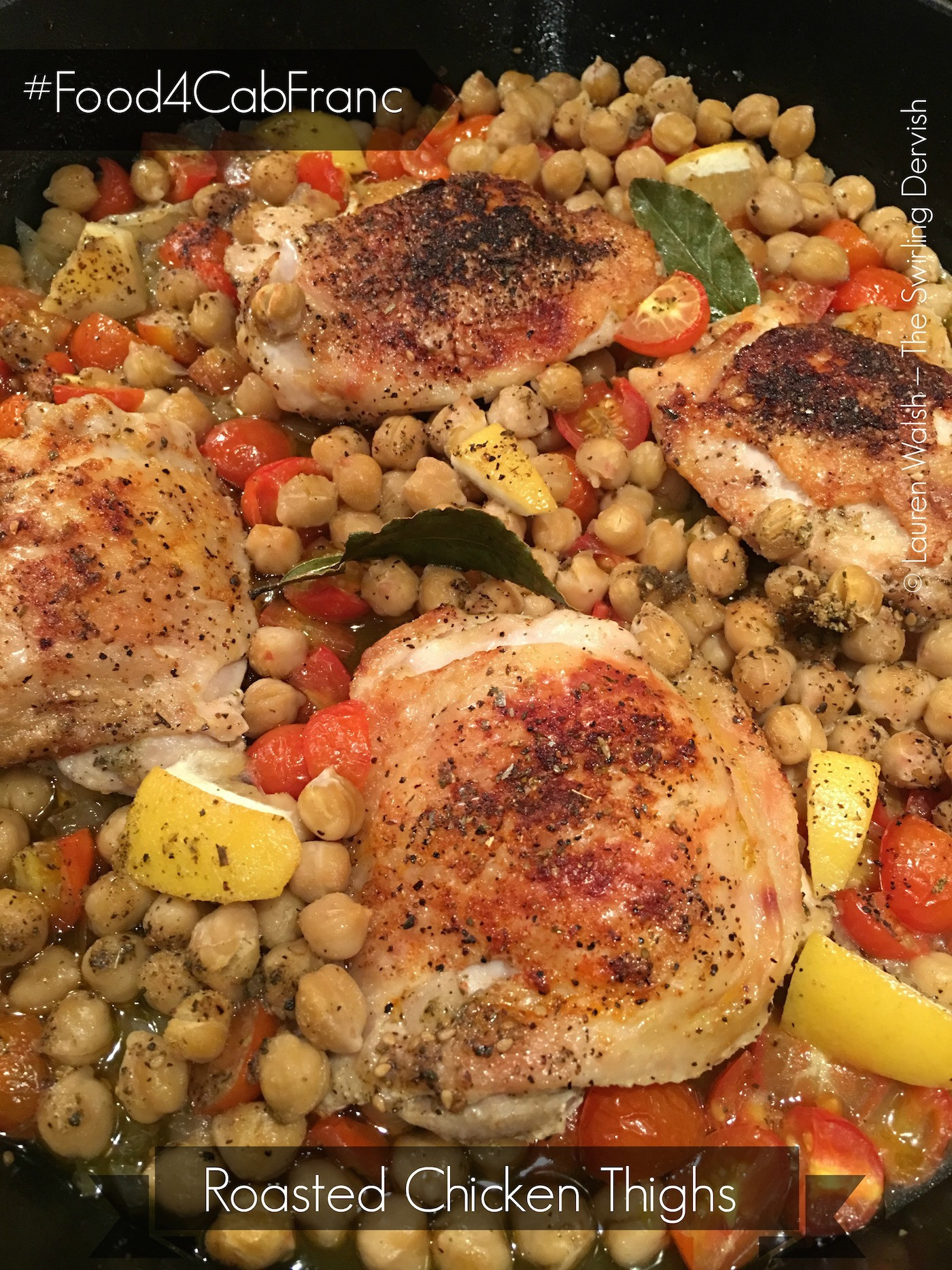 Roasted Chicken Thighs And Vegetables  Food4CabFranc 3 Roasted Chicken Thighs with Ve ables