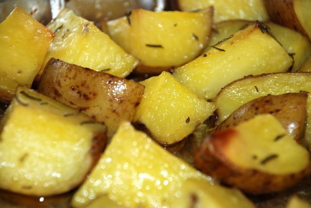 Roasted Gold Potatoes  A001 Wedding Buffet Menu Chicken Marsala Piccatta Beef