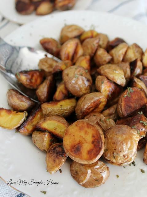 Roasted Gold Potatoes  Roasted Honey Gold Potatoes