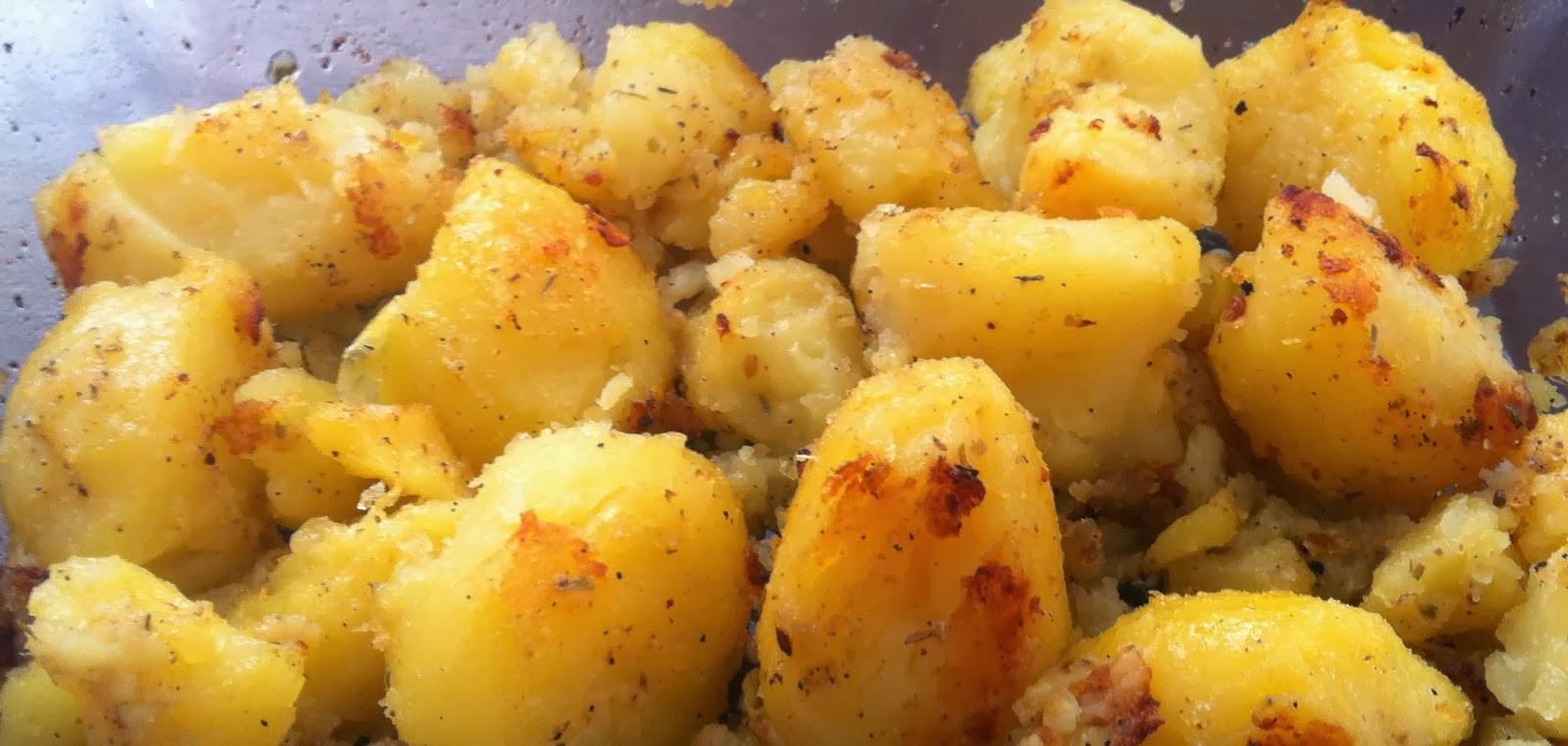 Roasted Gold Potatoes  Vegan Adjacent Roasted Gold Potatoes