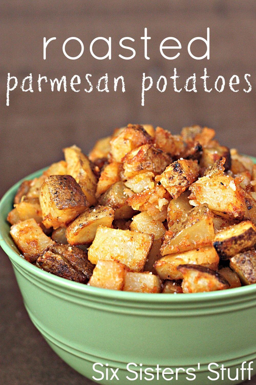 Roasted Parmesan Potatoes  Roasted Parmesan Potatoes Recipe