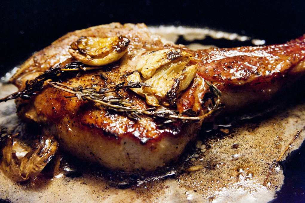 Roasted Pork Chops  baked pork chops oven