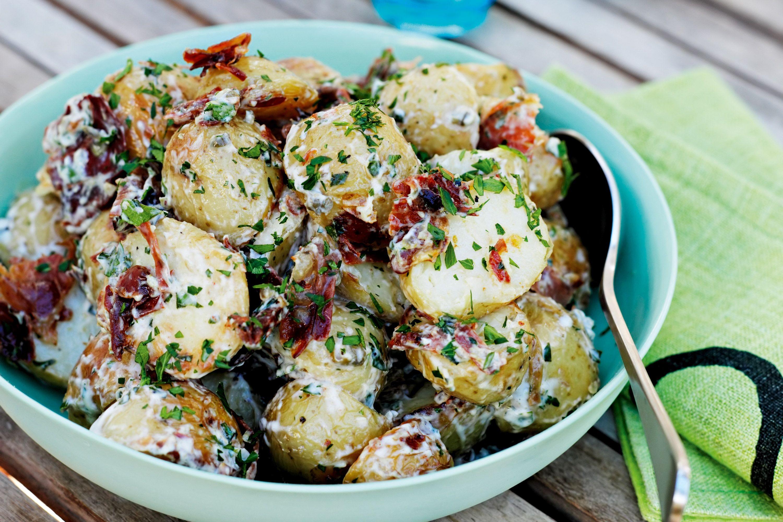 Roasted Potato Salad  creamy potato salad jamie oliver