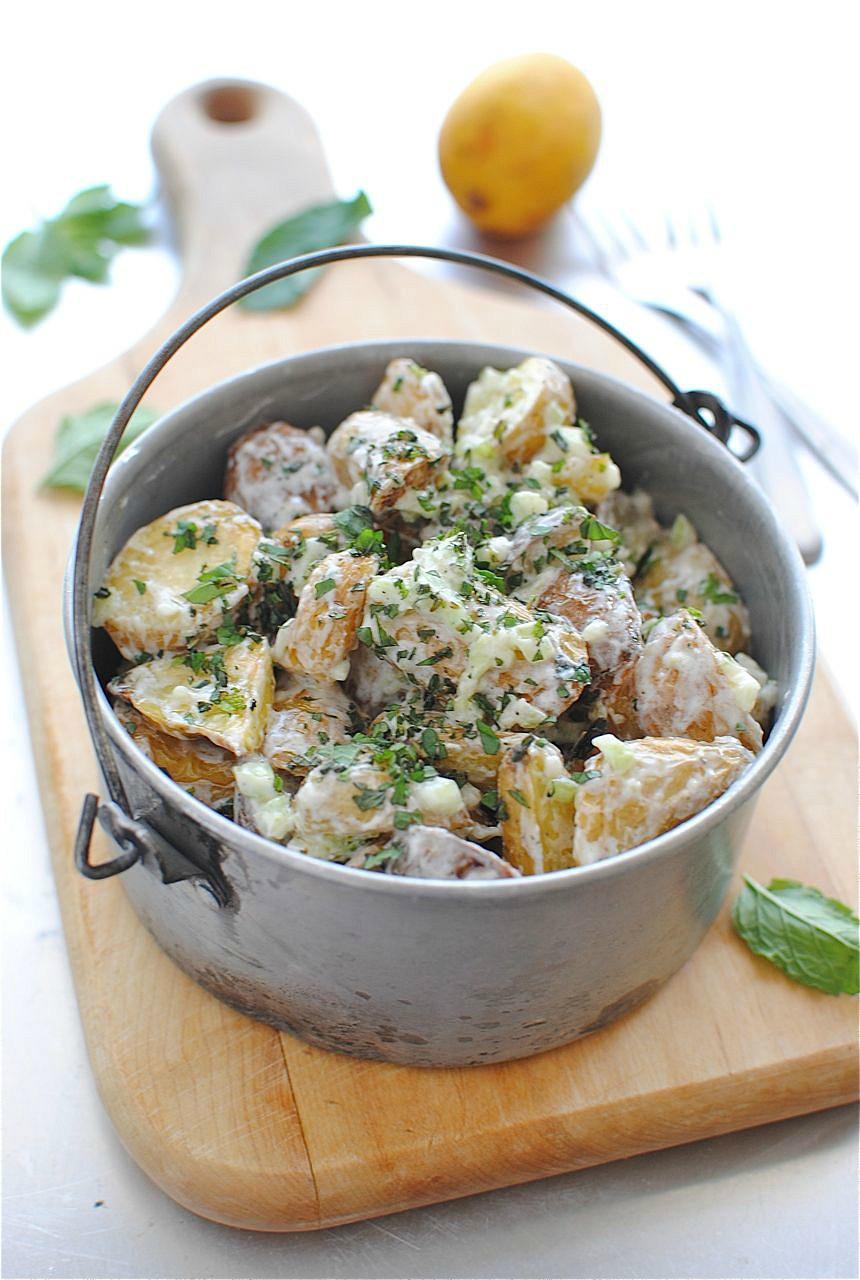 Roasted Potato Salad  Lemony Roasted Potato Salad
