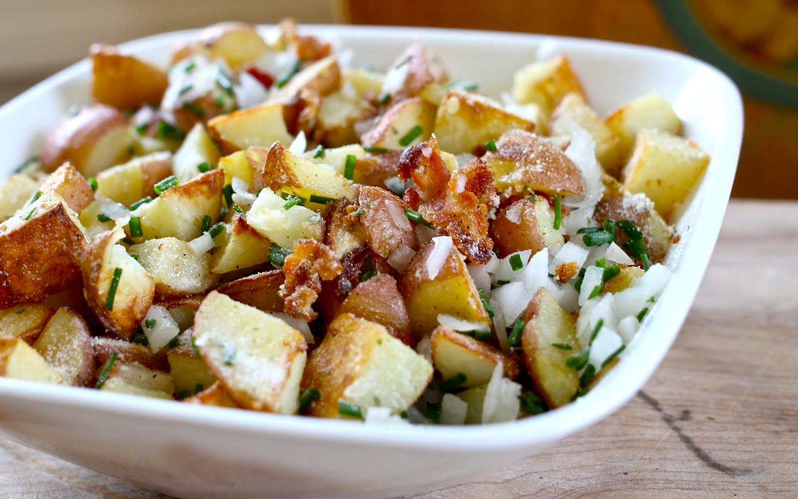Roasted Potato Salad  Yammie s Noshery Roasted Bacon Ranch Potato Salad