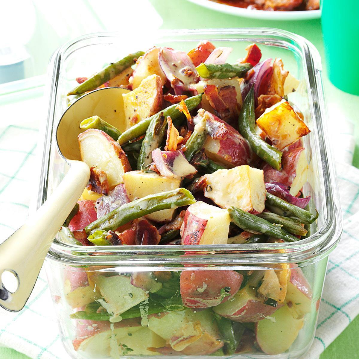 Roasted Potato Salad  Roasted Potato & Green Bean Salad Recipe