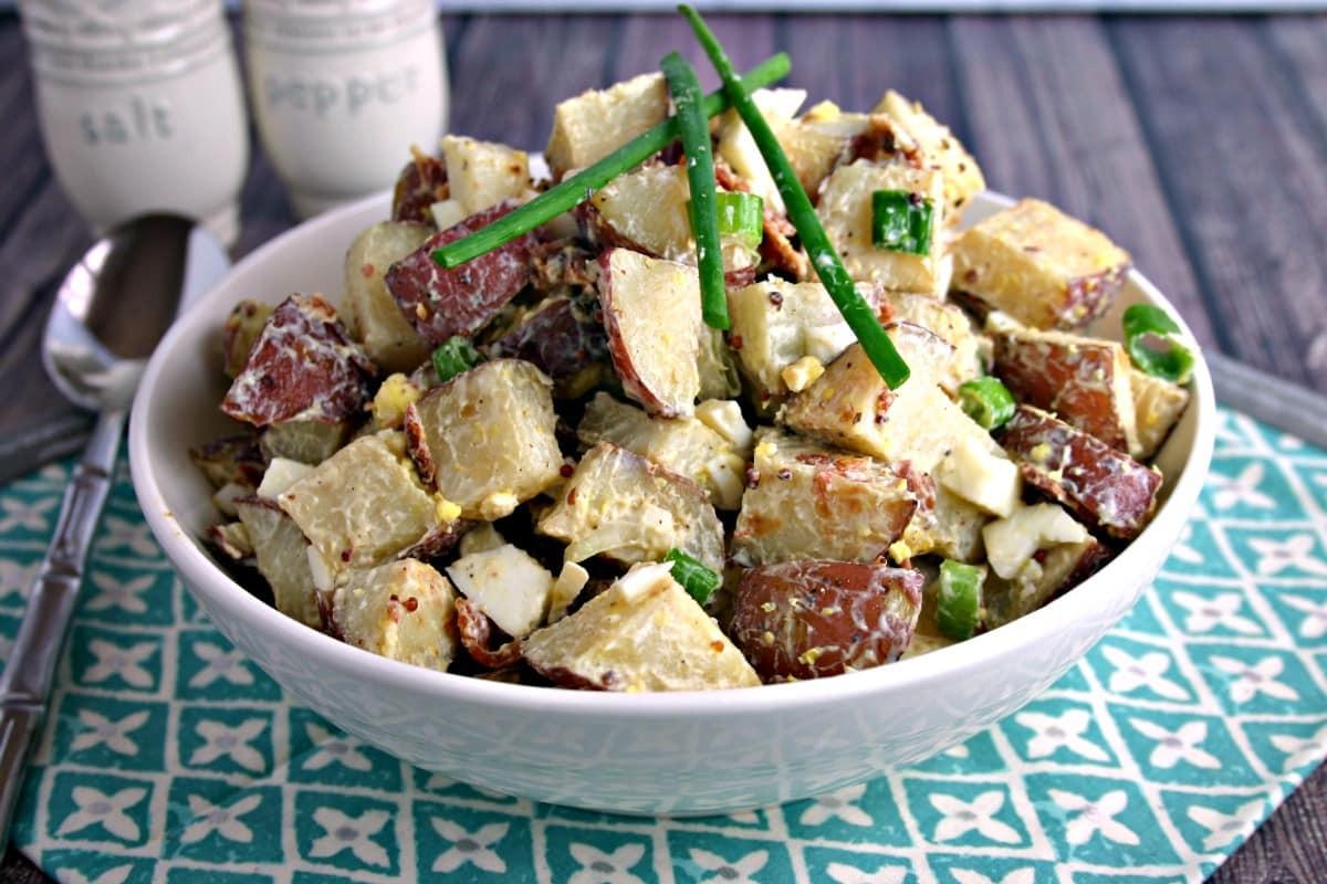 Roasted Potato Salad  Roasted Red Potato Salad Life Love and Good Food