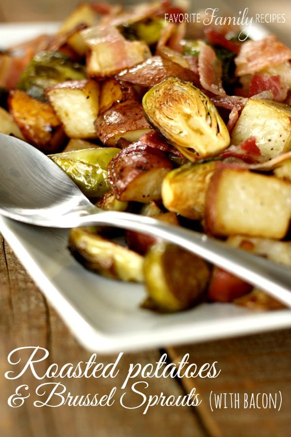 Roasted Potatoes And Brussel Sprouts  Weekly Menu Plan 33 The Girl Who Ate Everything
