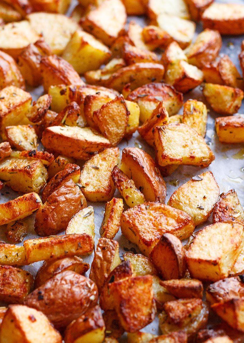 Roasted Potatoes In The Oven  Garlic Cajun Roasted Potatoes — Eatwell101