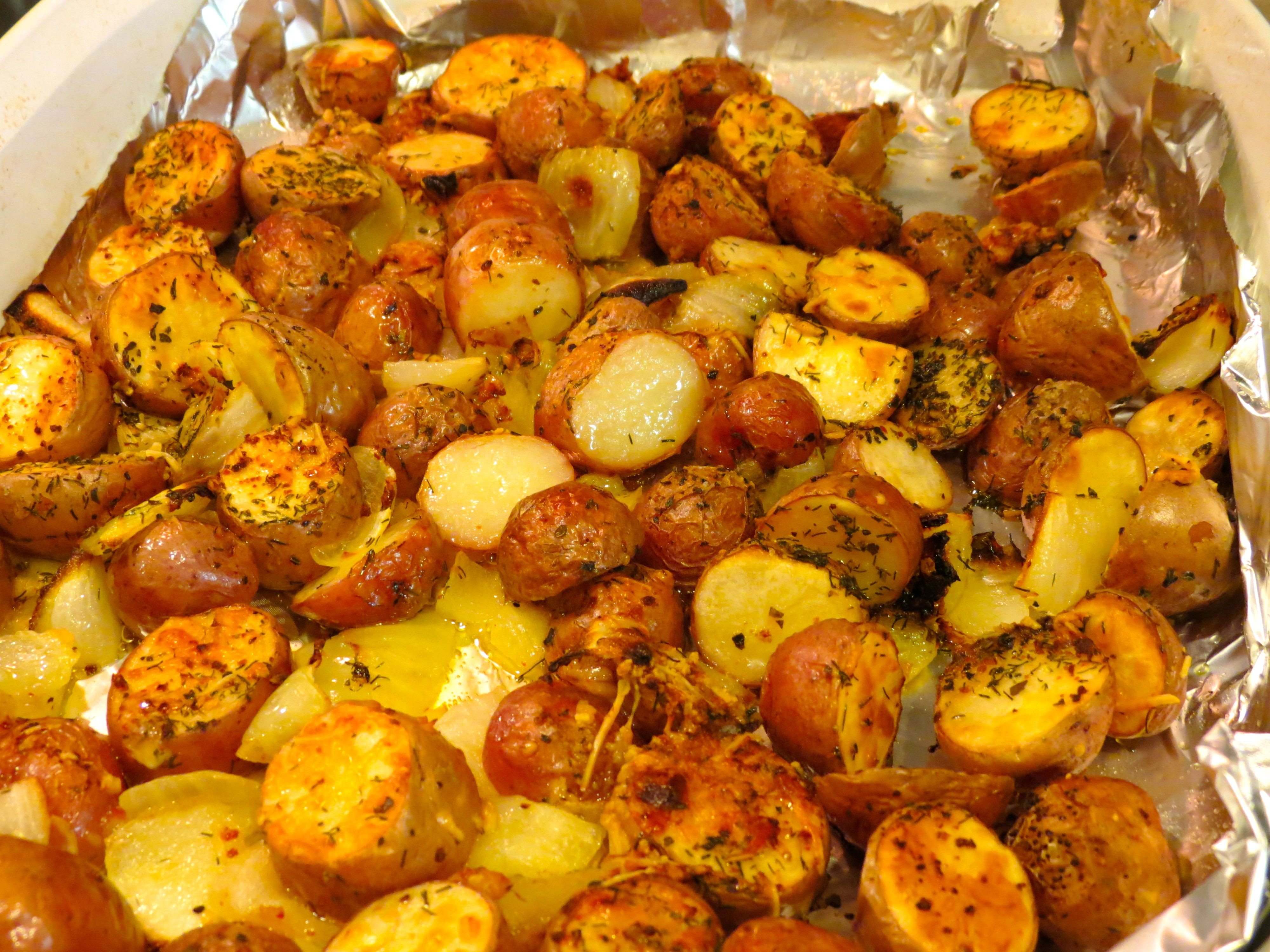Roasted Potatoes In The Oven  Easy to Make Oven Roasted Red Potatoes