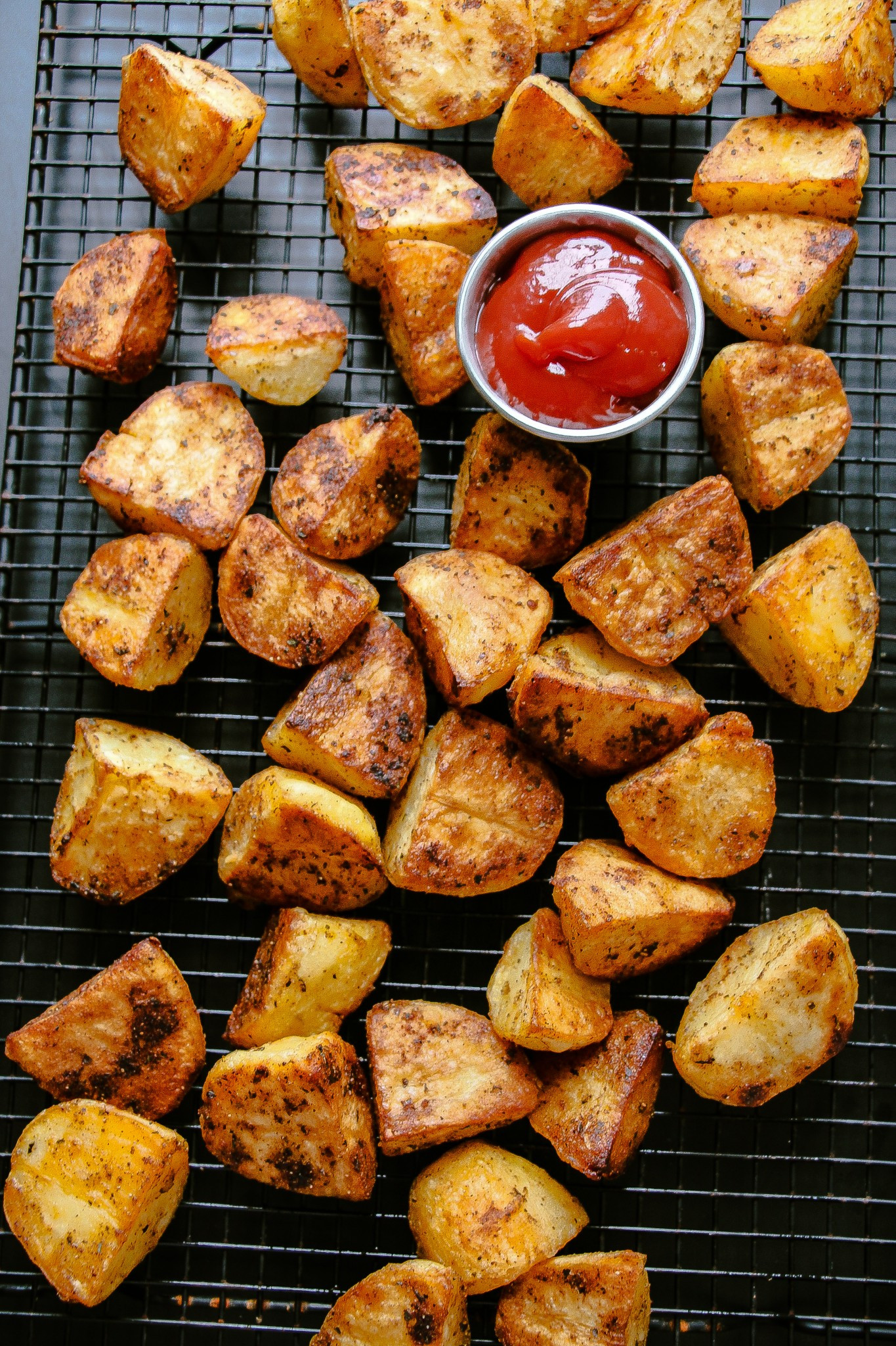 Roasted Potatoes In The Oven  Extra Crispy Oven Roasted Potatoes Layers of Happiness