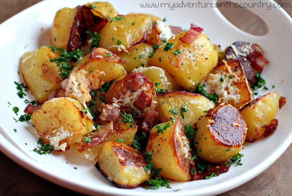 Roasted Potatoes In The Oven  Oven Roasted Potatoes