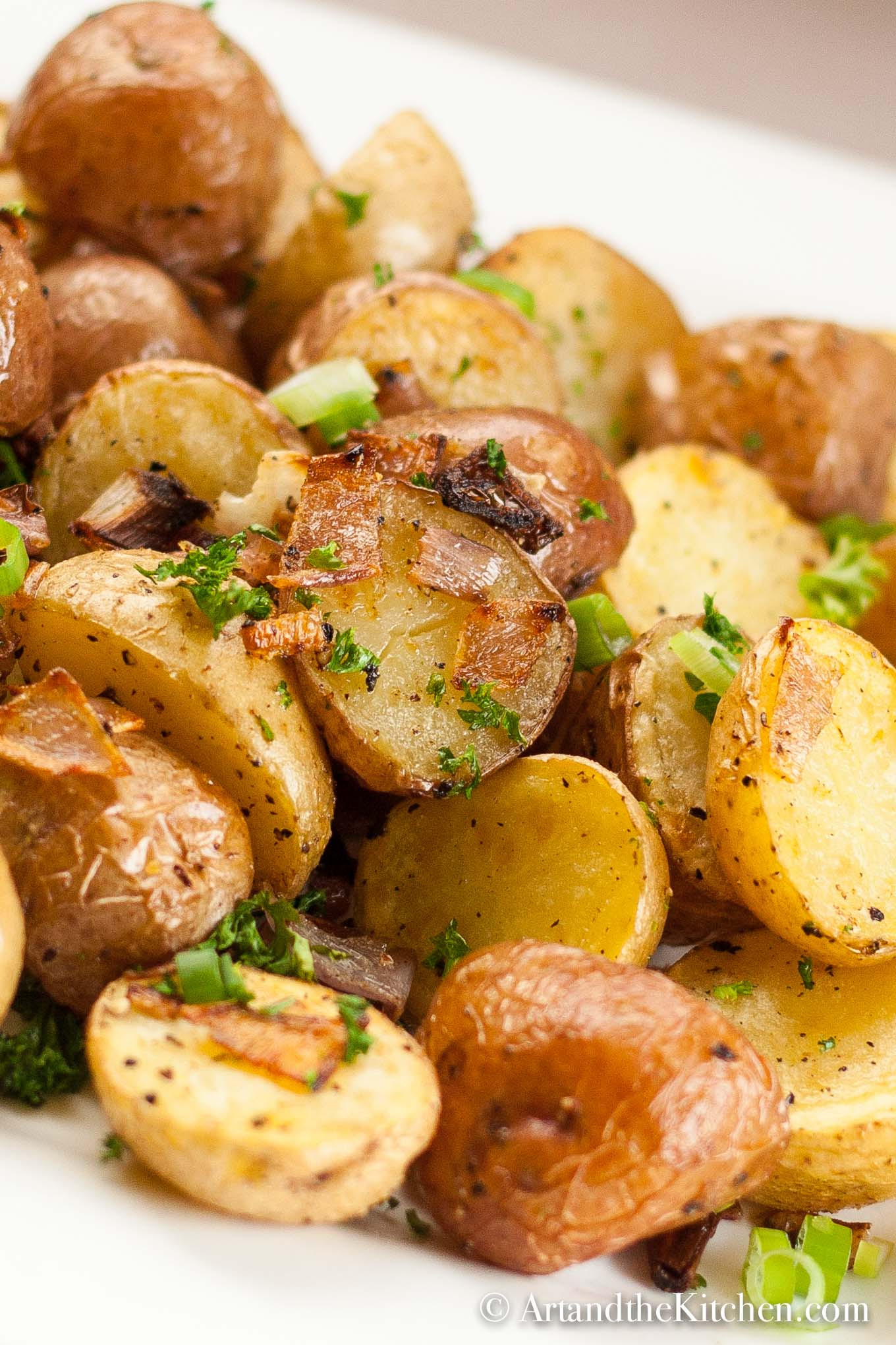 Roasted Potatoes In The Oven  Parmesan Oven Roasted Potatoes