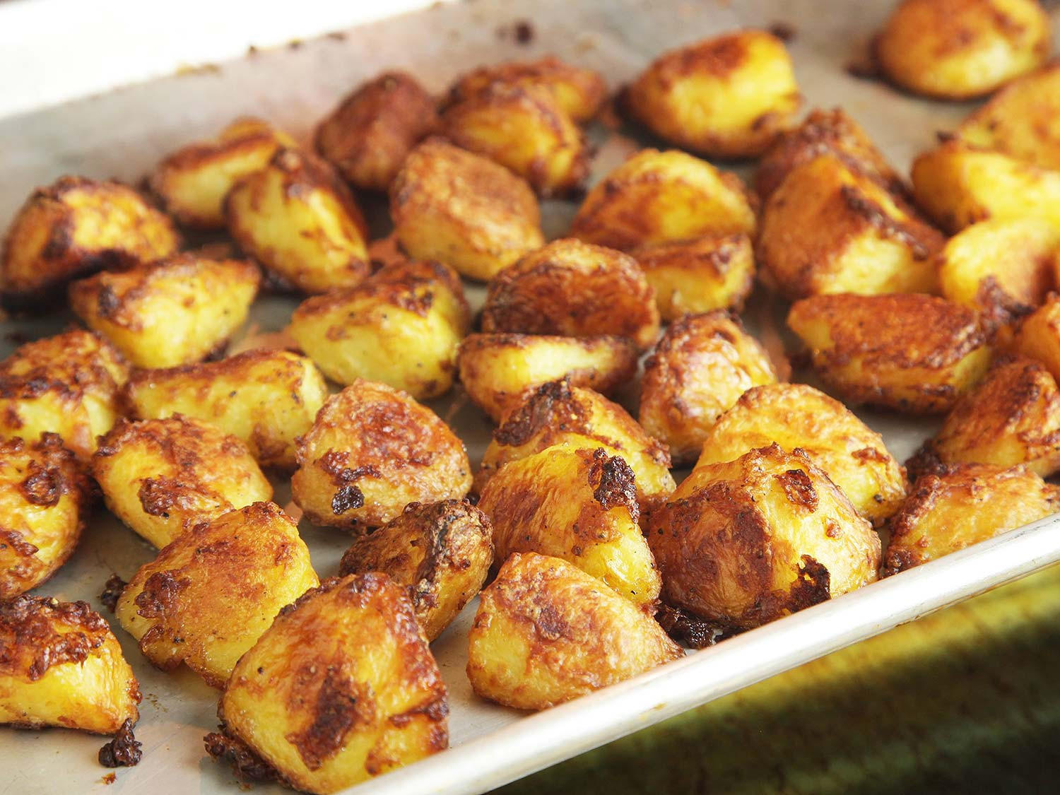 Roasted Potatoes In The Oven  roast potatoes in oven