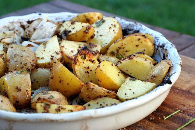 Roasted Root Vegetables Barefoot Contessa  Barefoot Contessa s Mustard Roasted Potatoes
