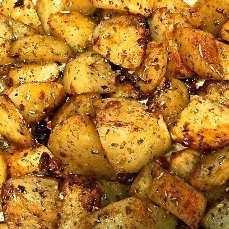 Roasted Russet Potatoes  As 25 melhores ideias de Roasted potatoes russet no