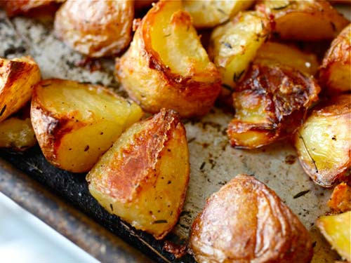 Roasted Russet Potatoes  Christmas Food Hacks That Will Impress Your Mates And Family