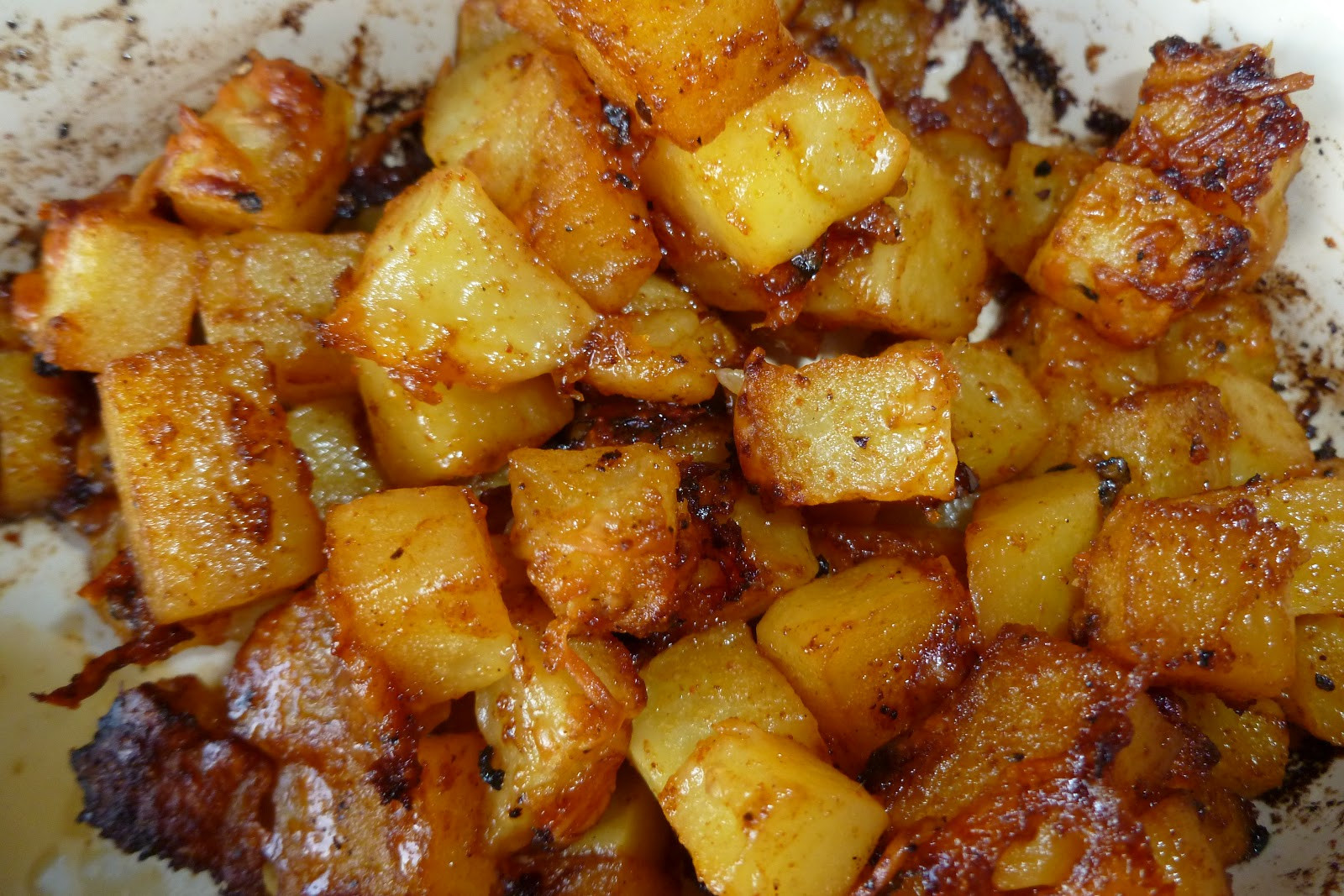 Roasted Russet Potatoes  The Pastry Chef s Baking Parmesan Roasted Potatoes