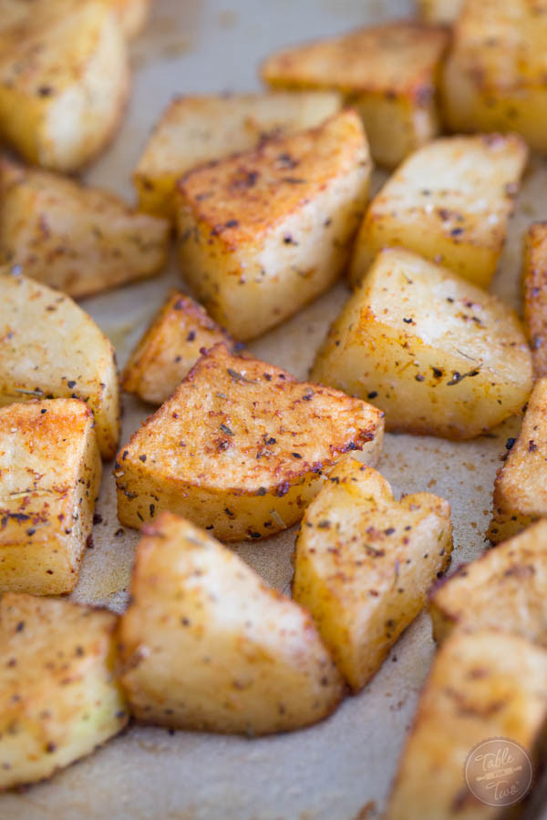 Roasted Russet Potatoes  Our Favorite Way to Roast Potatoes Russet Potato Recipe