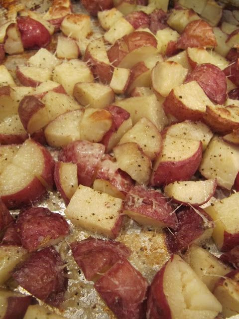 Roasted Russet Potatoes  The 25 best Oven roasted red potatoes ideas on Pinterest
